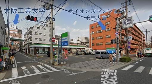 物件No.H635 貸店舗 大阪市旭区中宮5